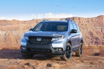 2019 Honda Passport Elite AWD in Lunar Silver Metallic - Static Front Left View