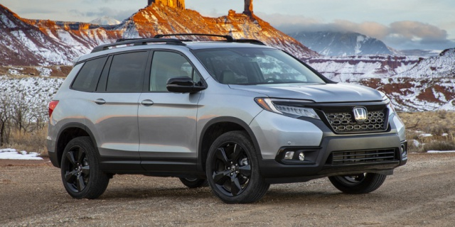 Research the 2019 Honda Passport