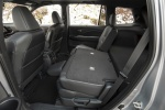 Picture of a 2020 Honda Passport Elite AWD's Rear Seats with Backrest Folded