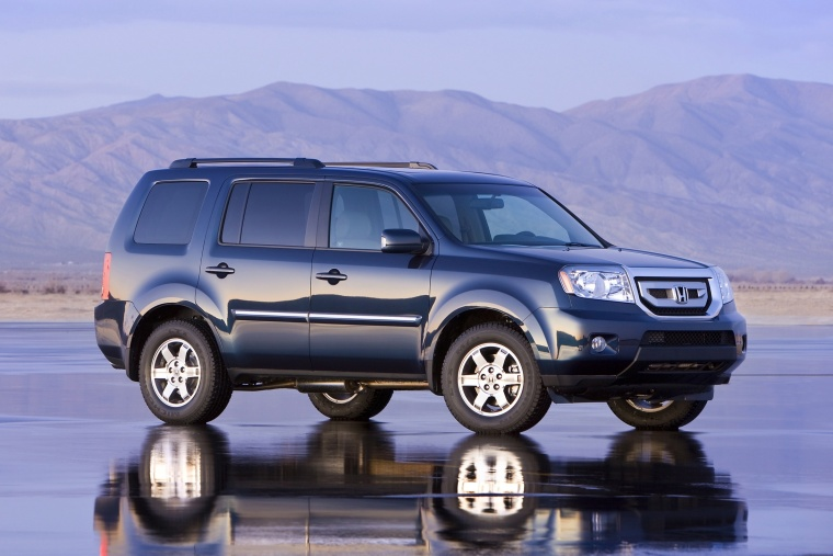 2011 Honda Pilot In Bali Blue Pearl Color Static Front