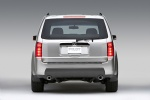 2011 Honda Pilot in Alabaster Silver Metallic - Static Rear View