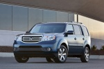 2014 Honda Pilot Touring in Obsidian Blue Pearl - Static Front Left View