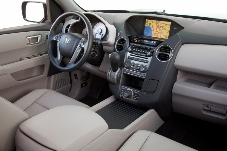 Superb 2015 Honda Pilot Touring Interior In Beige