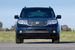 2015 Honda Pilot Touring in Obsidian Blue Pearl - Static Frontal View