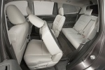 Picture of a 2016 Honda Pilot's Third Row Seats in Gray