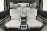Picture of a 2016 Honda Pilot's Rear Seats in Gray