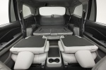 Picture of a 2016 Honda Pilot's Rear Seats Folded in Gray