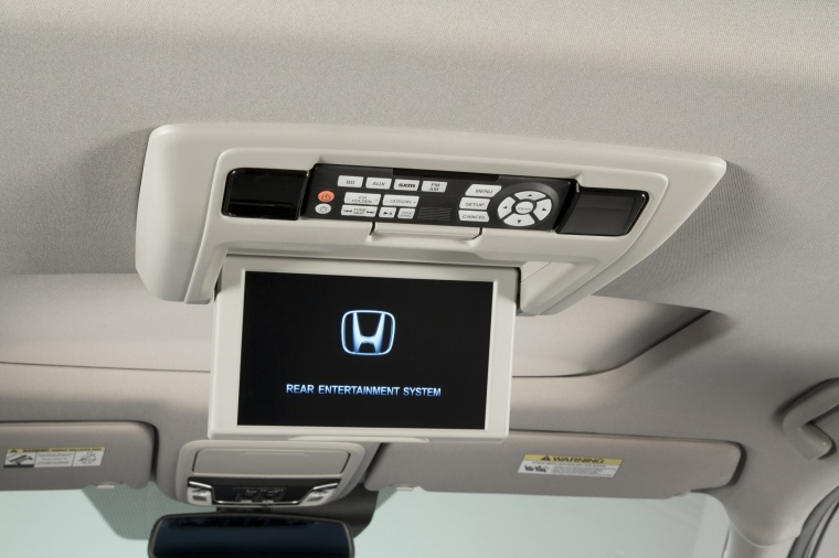 2017 Honda Pilot Overhead Screen Picture