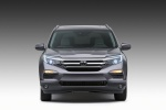 2017 Honda Pilot in Modern Steel Metallic - Static Frontal View