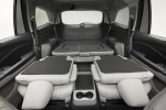 Picture of a 2017 Honda Pilot's Rear Seats Folded in Gray