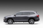 2017 Honda Pilot in Modern Steel Metallic - Static Side View