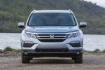 2017 Honda Pilot AWD in Lunar Silver Metallic - Static Frontal View