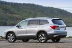 2017 Honda Pilot AWD in Lunar Silver Metallic - Static Rear Left Three-quarter View