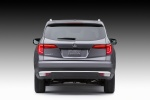 2017 Honda Pilot in Modern Steel Metallic - Static Rear View
