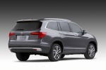 2017 Honda Pilot in Modern Steel Metallic - Static Rear Right View