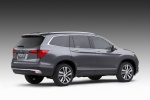 2017 Honda Pilot in Modern Steel Metallic - Static Rear Right Three-quarter View