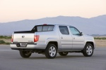 2011 Honda Ridgeline in Alabaster Silver Metallic - Static Rear Right Three-quarter View