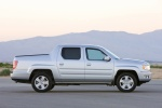 2011 Honda Ridgeline in Alabaster Silver Metallic - Static Side View