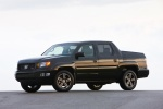 2012 Honda Ridgeline in Crystal Black Pearl - Static Front Left Three-quarter View