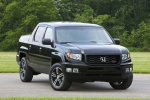 2012 Honda Ridgeline in Crystal Black Pearl - Static Front Right View