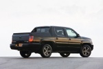 2013 Honda Ridgeline in Crystal Black Pearl - Static Rear Right Three-quarter View