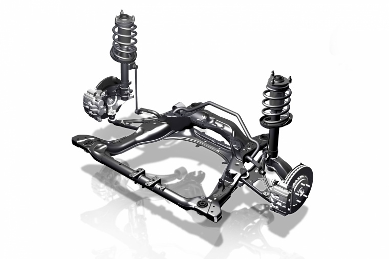 2017 Honda Ridgeline AWD Front Suspension Picture