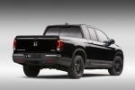 2017 Honda Ridgeline Black Edition AWD in Crystal Black Pearl - Static Rear Right View