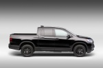 2017 Honda Ridgeline Black Edition AWD in Crystal Black Pearl - Static Side View