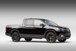 2017 Honda Ridgeline Black Edition AWD in Crystal Black Pearl - Static Front Right Three-quarter View
