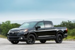 2017 Honda Ridgeline Black Edition AWD in Crystal Black Pearl - Static Front Left Three-quarter View