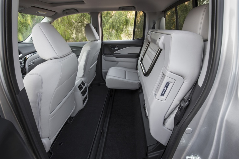 2018 Honda Ridgeline AWD Rear Seats Folded