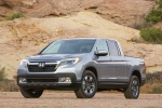 2018 Honda Ridgeline AWD in Lunar Silver Metallic - Static Front Left View