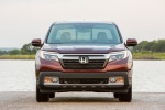 2018 Honda Ridgeline AWD in Deep Scarlet Pearl - Static Frontal View