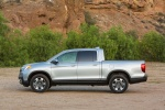 2018 Honda Ridgeline AWD in Lunar Silver Metallic - Static Side View