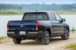 2018 Honda Ridgeline AWD in Obsidian Blue Pearl - Static Rear Right View