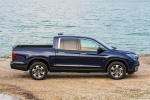 2018 Honda Ridgeline AWD in Obsidian Blue Pearl - Static Side View