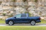 2018 Honda Ridgeline AWD in Obsidian Blue Pearl - Driving Side View