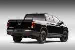 2018 Honda Ridgeline Black Edition AWD in Crystal Black Pearl - Static Rear Right View
