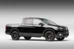 2018 Honda Ridgeline Black Edition AWD in Crystal Black Pearl - Static Front Right Three-quarter View