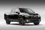 2018 Honda Ridgeline Black Edition AWD in Crystal Black Pearl - Static Front Right View