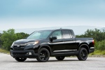2018 Honda Ridgeline Black Edition AWD in Crystal Black Pearl - Static Front Left Three-quarter View