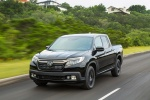 2018 Honda Ridgeline Black Edition AWD in Crystal Black Pearl - Driving Front Left View