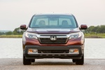 2019 Honda Ridgeline AWD in Deep Scarlet Pearl - Static Frontal View