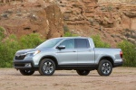 2019 Honda Ridgeline AWD in Lunar Silver Metallic - Static Front Left Three-quarter View