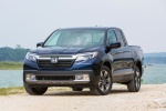 2019 Honda Ridgeline AWD in Obsidian Blue Pearl - Static Frontal View