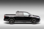 2019 Honda Ridgeline Black Edition AWD in Crystal Black Pearl - Static Side View
