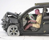 2010 Hyundai Accent IIHS Frontal Impact Crash Test Picture