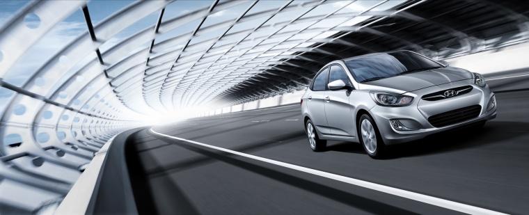2012 Hyundai Accent GLS Sedan Picture