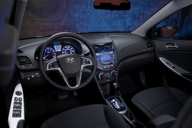 2012 Hyundai Accent Hatchback Cockpit Picture