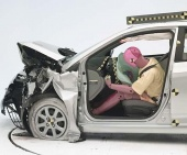 2012 Hyundai Accent IIHS Frontal Impact Crash Test Picture